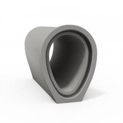 Rura o profilu jajowym betonowa lub żelbetowa